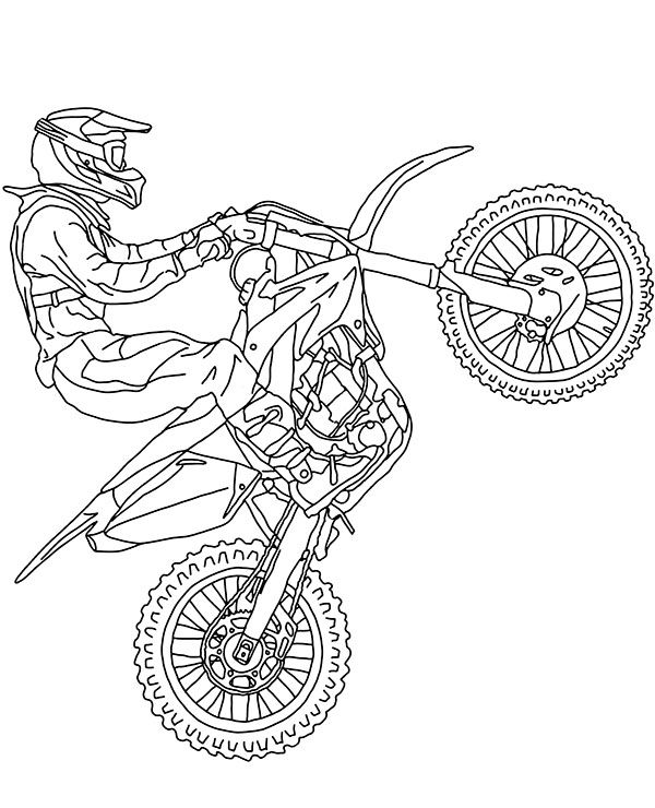 motocross coloring pages motocross coloring pages to download and print for free coloring motocross pages
