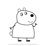 mummy pig learn how to draw mummy pig from peppa pig peppa pig mummy pig 1 1