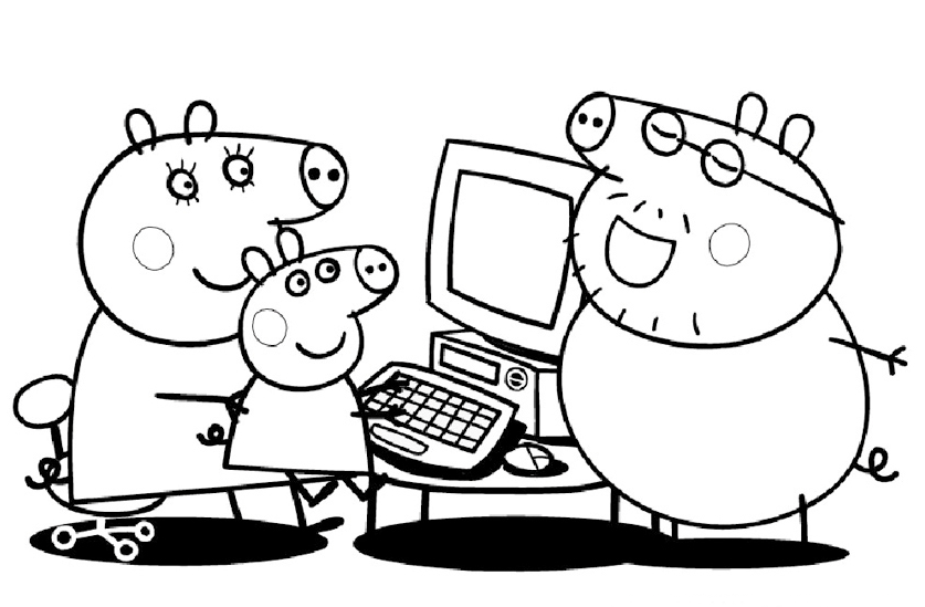mummy pig mummy pig peppa pig drawing coloring book pages videos mummy pig