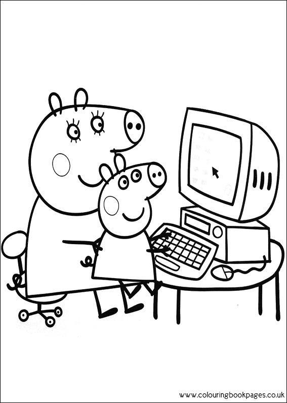 mummy pig peppa pig mummy pig learn colors fun learning video pig mummy