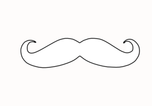 mustache coloring page free printable mustache images mustache template page mustache coloring