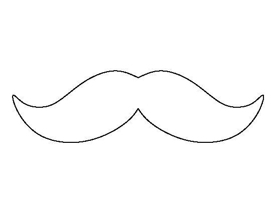 mustache coloring page moustache coloring pages clipart best coloring mustache page