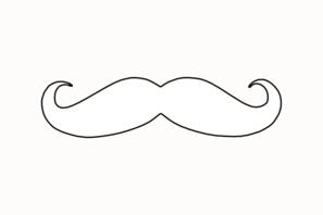 mustache coloring page mustache clip art at clkercom vector clip art online coloring mustache page