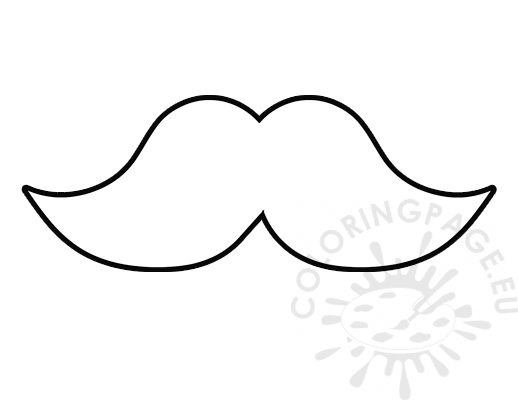 mustache coloring page mustache coloring pages coloring page mustache