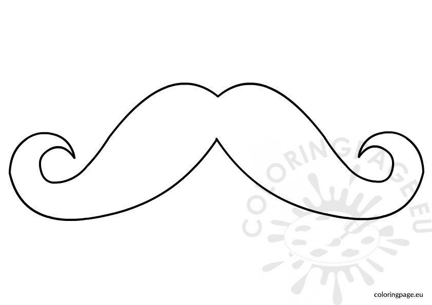mustache coloring page mustache moustache template printable sketch coloring page mustache page coloring