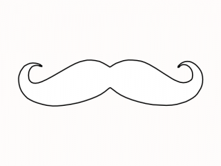 mustache coloring page related coloring pagesbow tie templatepig mask templatepig coloring page mustache