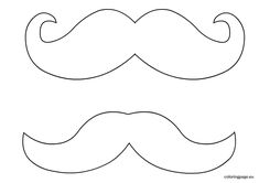mustache coloring pages free mustache clipart download free clip art on owipscom mustache coloring pages