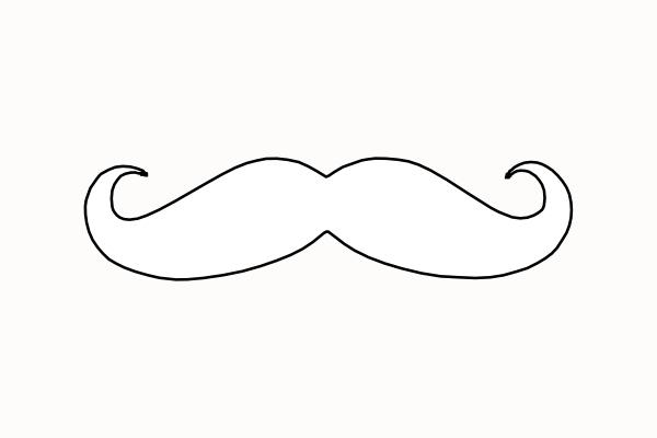 mustache coloring pages moustache coloring pages clipart best pages mustache coloring