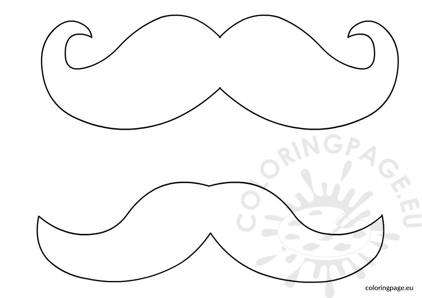 mustache coloring pages mustache template coloring page coloring pages mustache