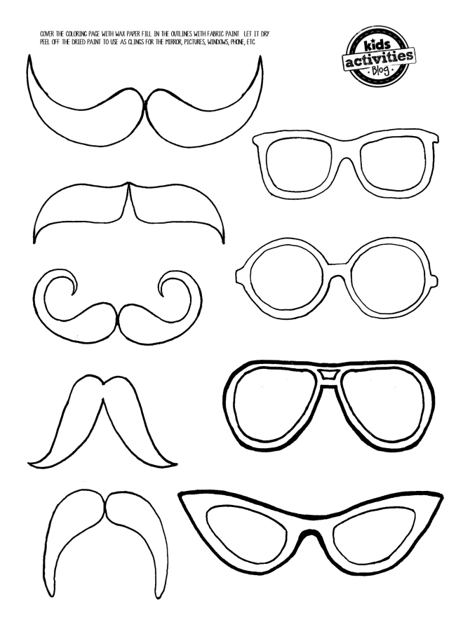 mustache coloring pages printable mustache printable image coloring page mustache coloring pages