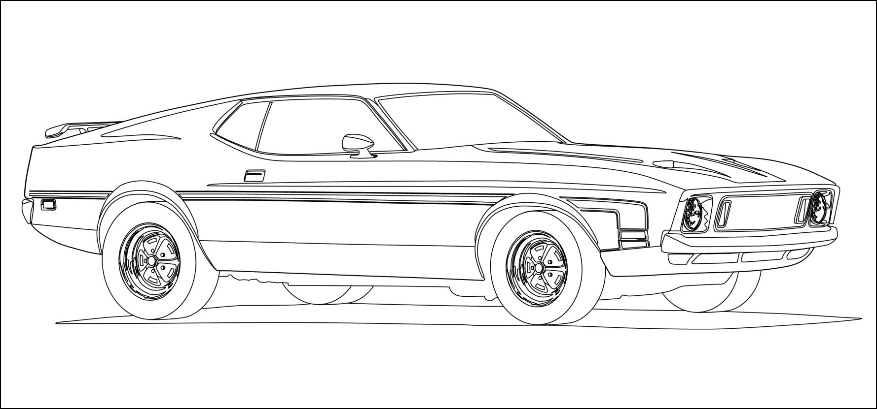 mustang pictures to color 71 73 mustang coloring page pictures mustang to color