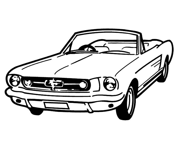 mustang pictures to color ford mustang car coloring pages coloring pages cars pictures mustang color to