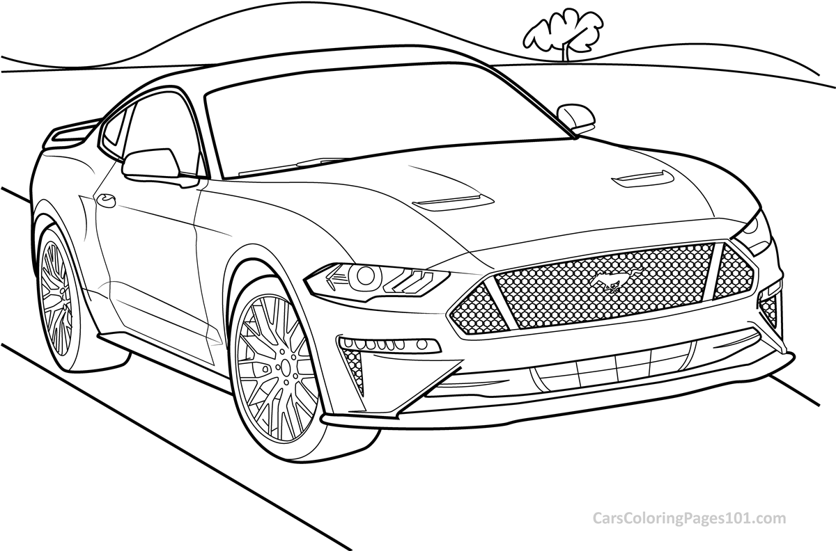 mustang pictures to color ford mustang coloring pages coloring pages to download mustang pictures color to