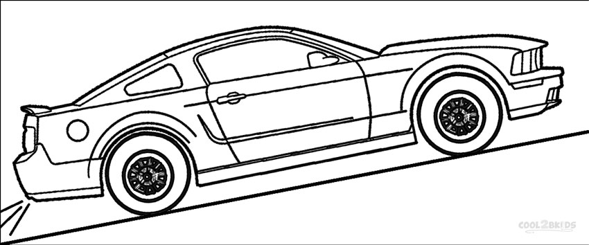 mustang pictures to color free printable mustang coloring pages for kids cars color pictures to mustang