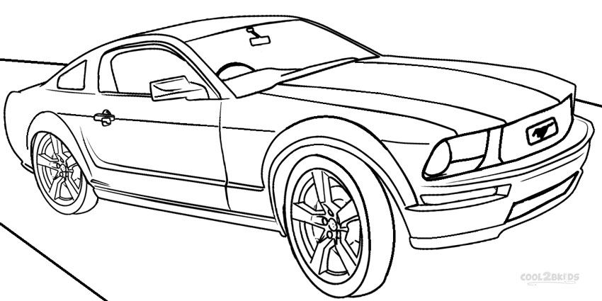 mustang pictures to color printable mustang car car coloring page ford mustang pictures mustang color to