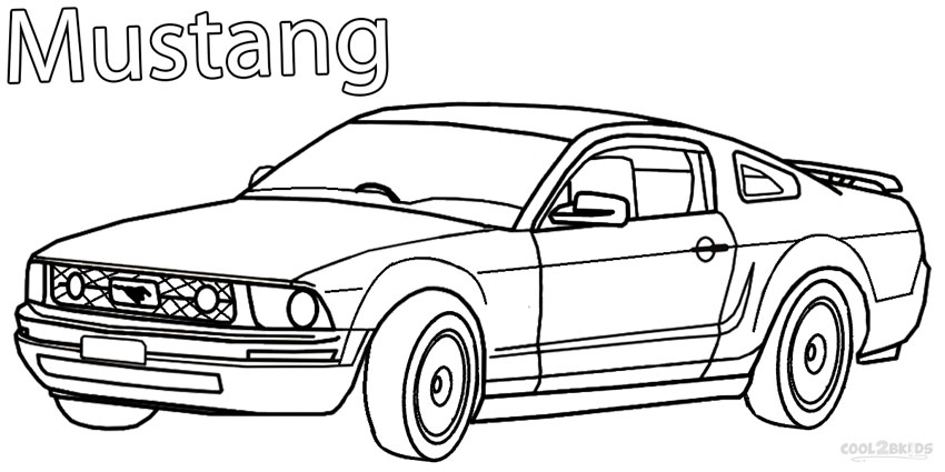 mustang pictures to color printable mustang coloring pages for kids cool2bkids color pictures mustang to