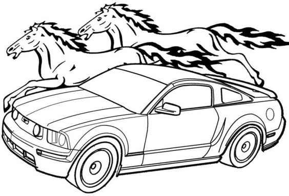 mustang pictures to color printable mustang coloring pages for kids cool2bkids color pictures mustang to 1 1