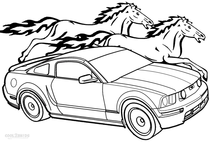 mustang pictures to color printable mustang coloring pages for kids cool2bkids pictures to color mustang