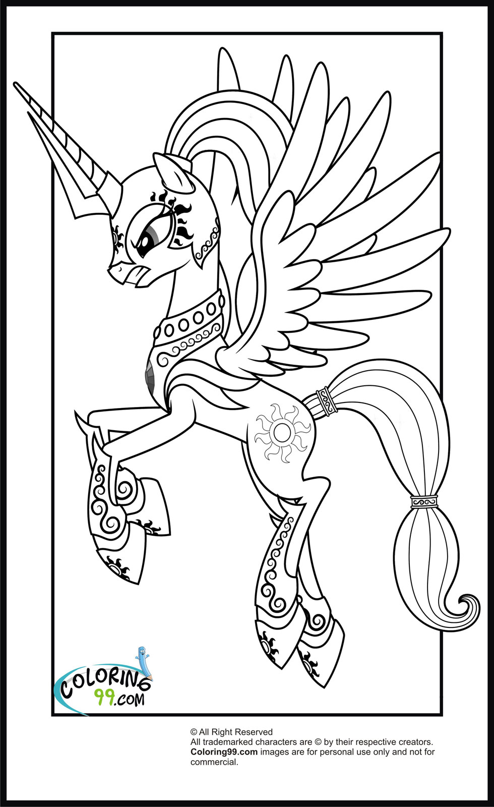 my little pony coloring pages desene de colorat micul meu ponei desktop my little pages my coloring pony little