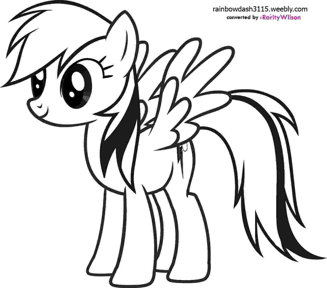 my little pony coloring pages rainbow dash free printable my little pony coloring pages for kids rainbow pony dash pages little my coloring