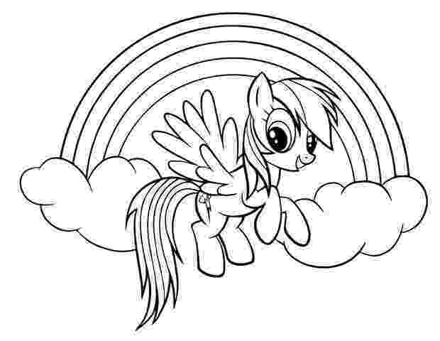 my little pony coloring pages rainbow dash rainbow dash coloring pages team colors little coloring rainbow pages my dash pony