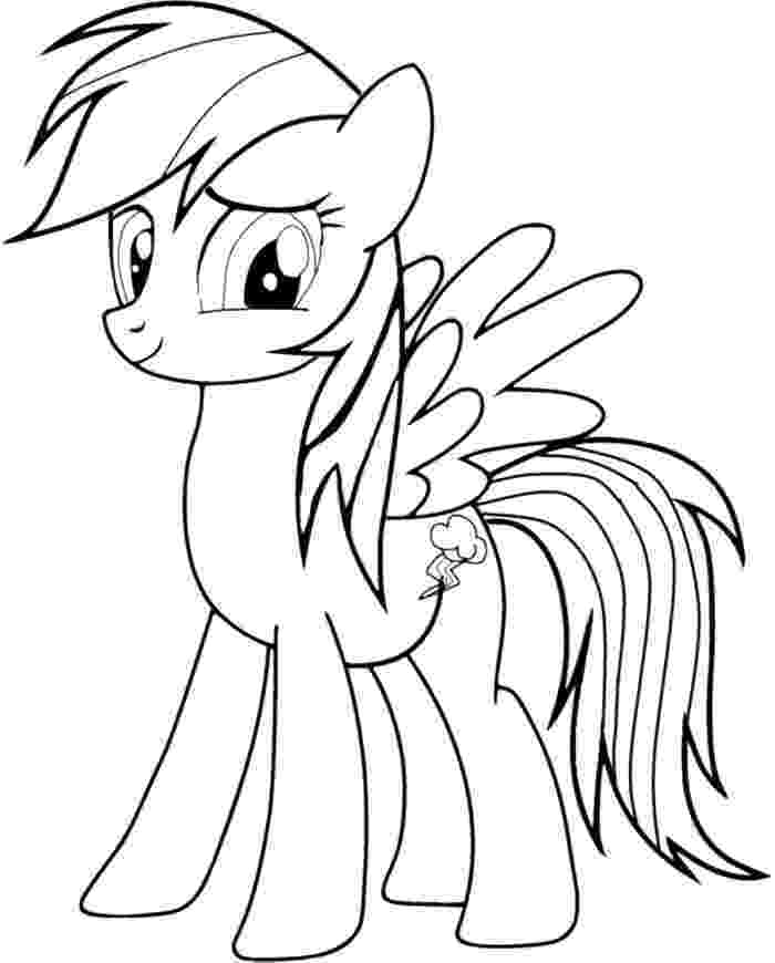 my little pony coloring pages rainbow dash rainbow dash pony coloring page my little pony coloring rainbow coloring pony little dash my pages