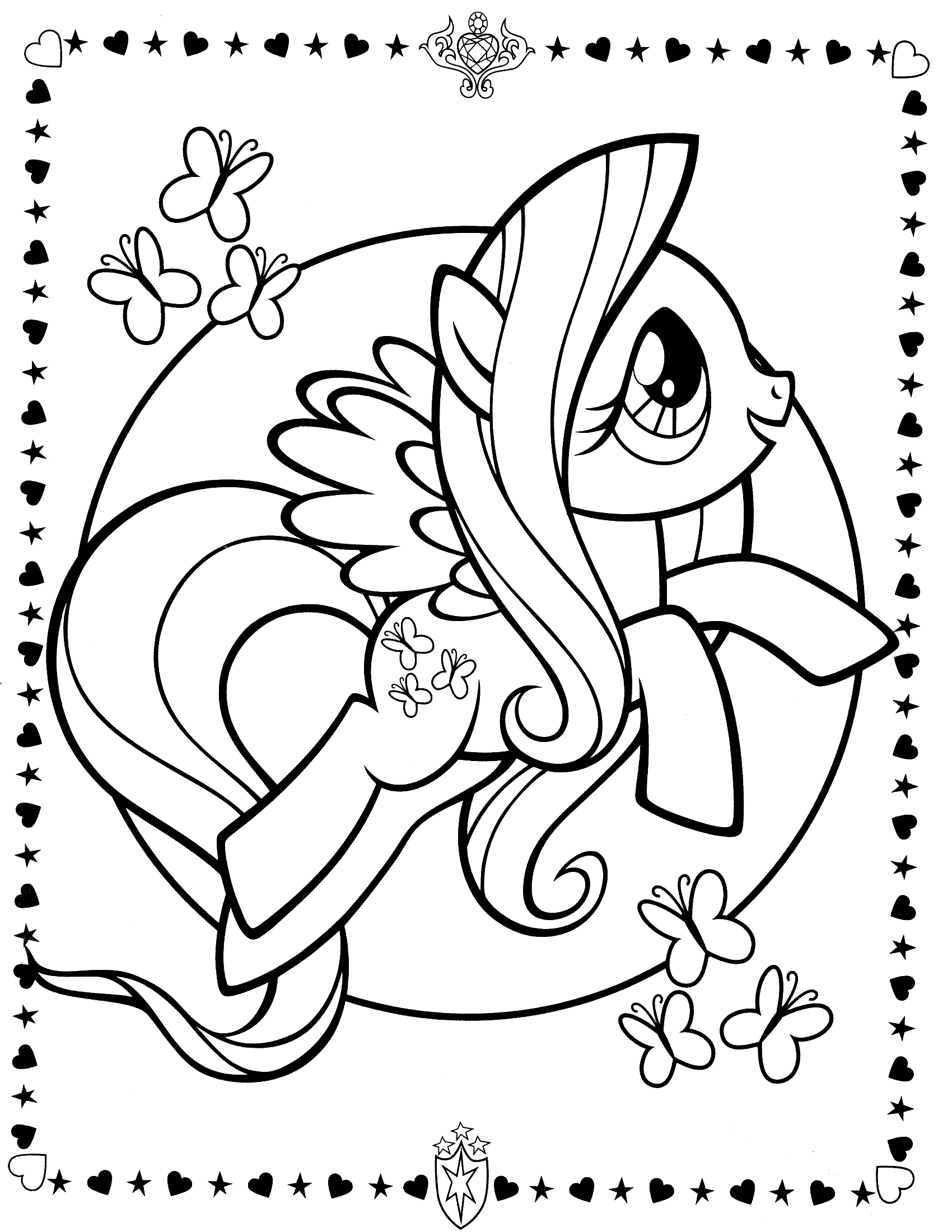 my little pony colouring pictures ponies from ponyville coloring pages free printable pictures little my colouring pony
