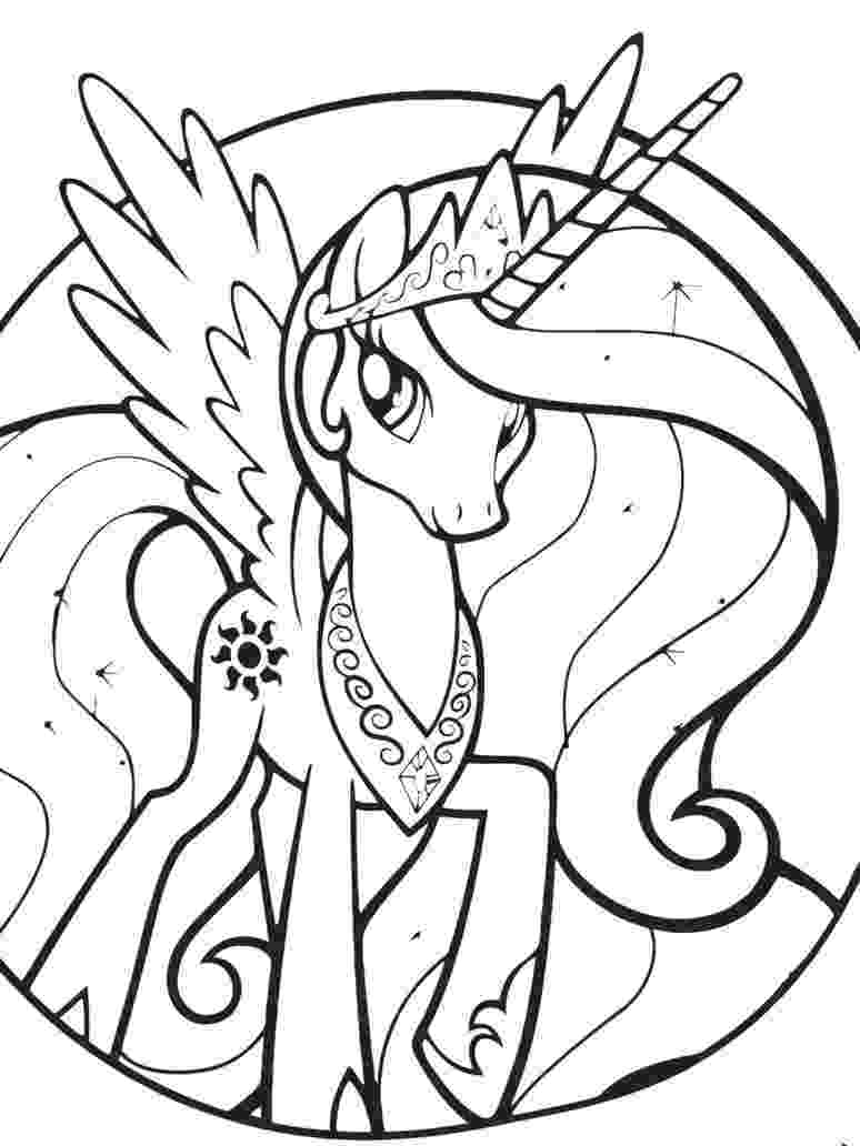 my little pony pages to color princess celestia coloring pages best coloring pages for color pony little pages my to