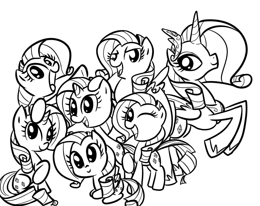 my little pony pictures my little pony desenhos para colorir pony little pictures my