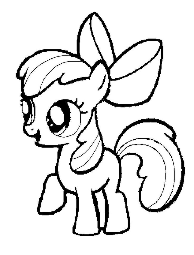 my little pony pictures to color apple bloom coloring pages 아이디어 pictures to color little pony my