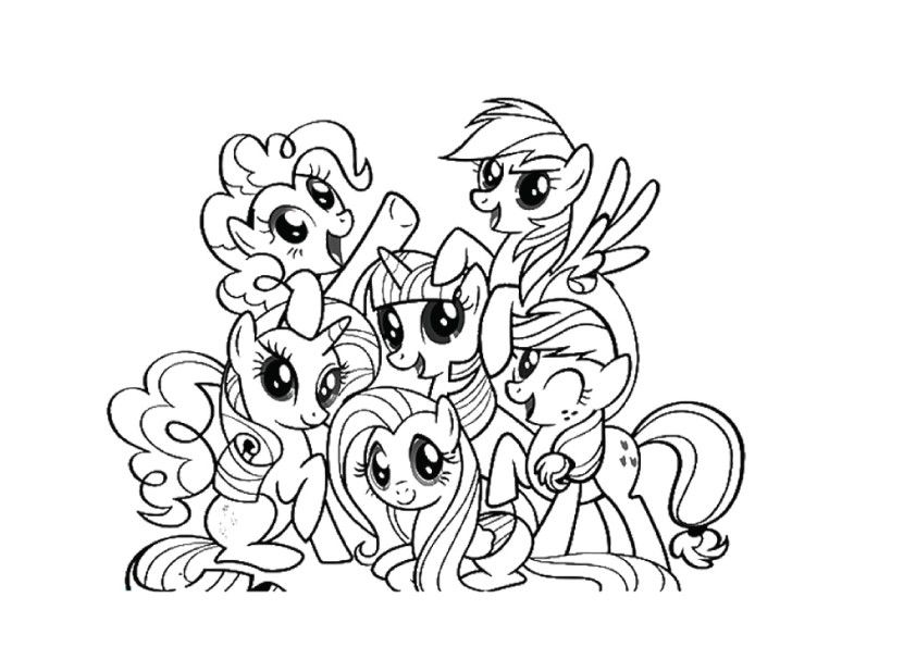 my little pony pictures to color my little pony coloring pages with all ponies coloring home color to my little pictures pony