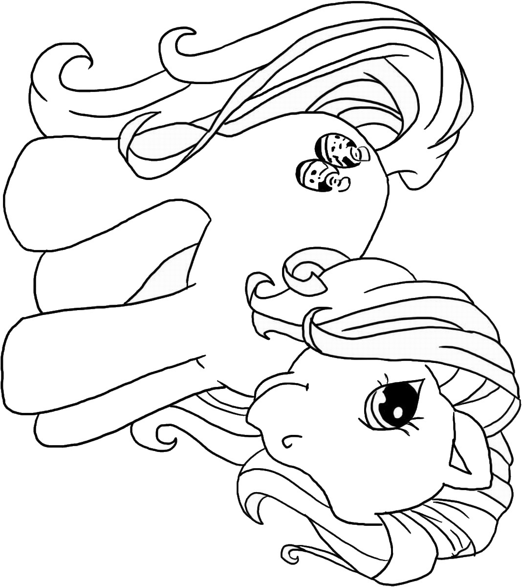my little pony print and colour my little pony coloring pages 360coloringpages and print little my pony colour