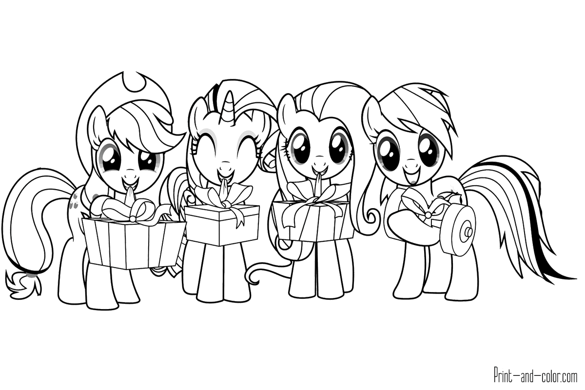 my little pony print and colour my little pony coloring pages my colour pony print little and