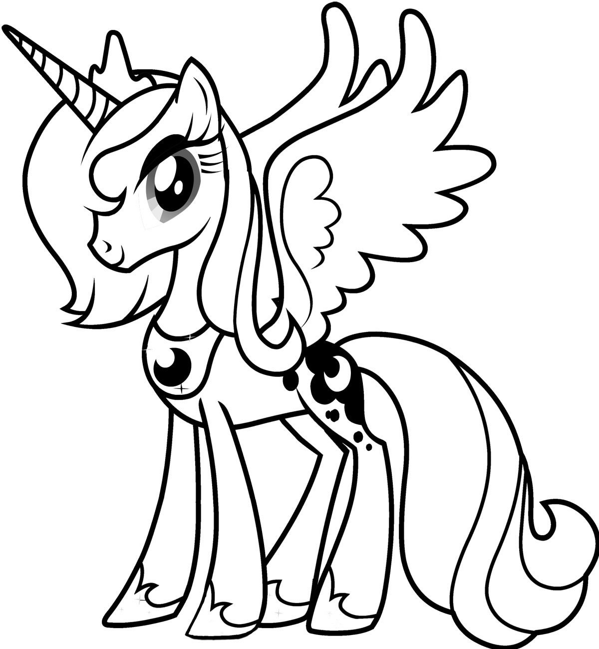 my little pony printouts free printable my little pony coloring pages for kids pony my printouts little
