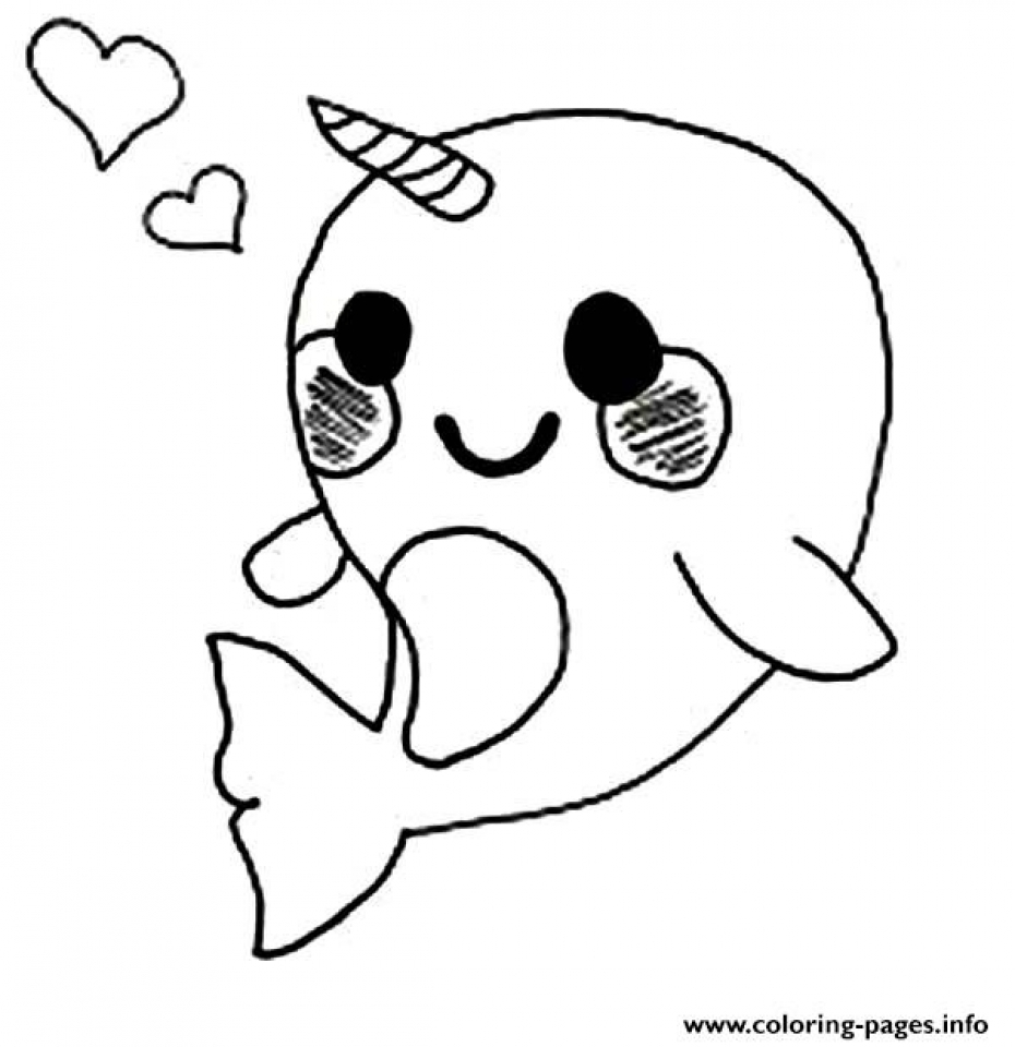 narwhal coloring page get this printable narwhal coloring pages online 90455 narwhal coloring page