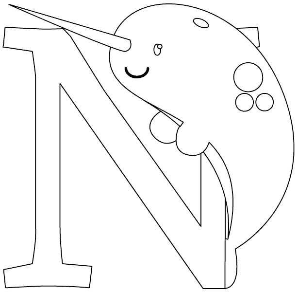 narwhal coloring page narwhal coloring pages page narwhal coloring