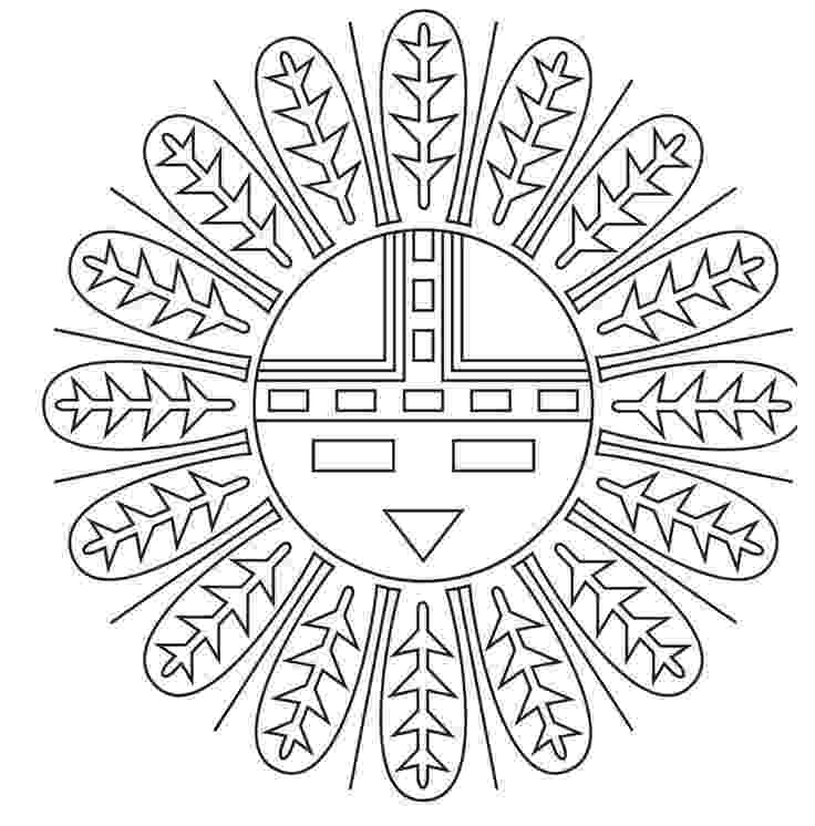 native american designs to color coloring pages native american designs coloring to native american designs color