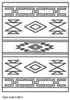 native american designs to color native american designs coloring pages printables native designs color american to