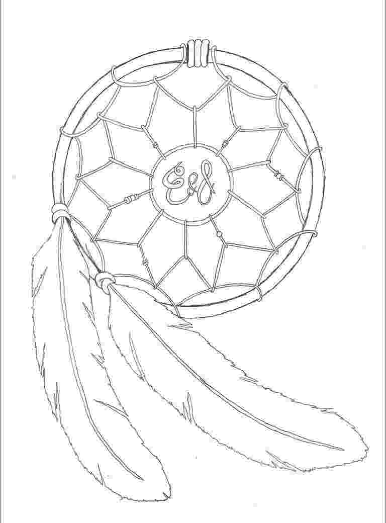 native american designs to color oodles of doodles dreamcatcher coloring page designs american to color native