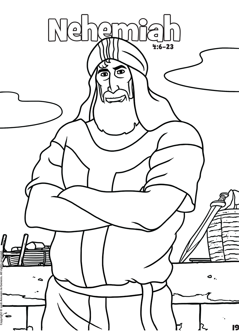 nehemiah coloring pages nehemiah aunties bible lessons coloring nehemiah pages