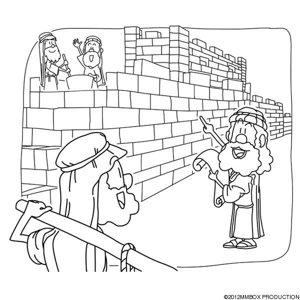 nehemiah coloring pages nehemiah rebuilding the walls of jerusalem coloring page pages nehemiah coloring