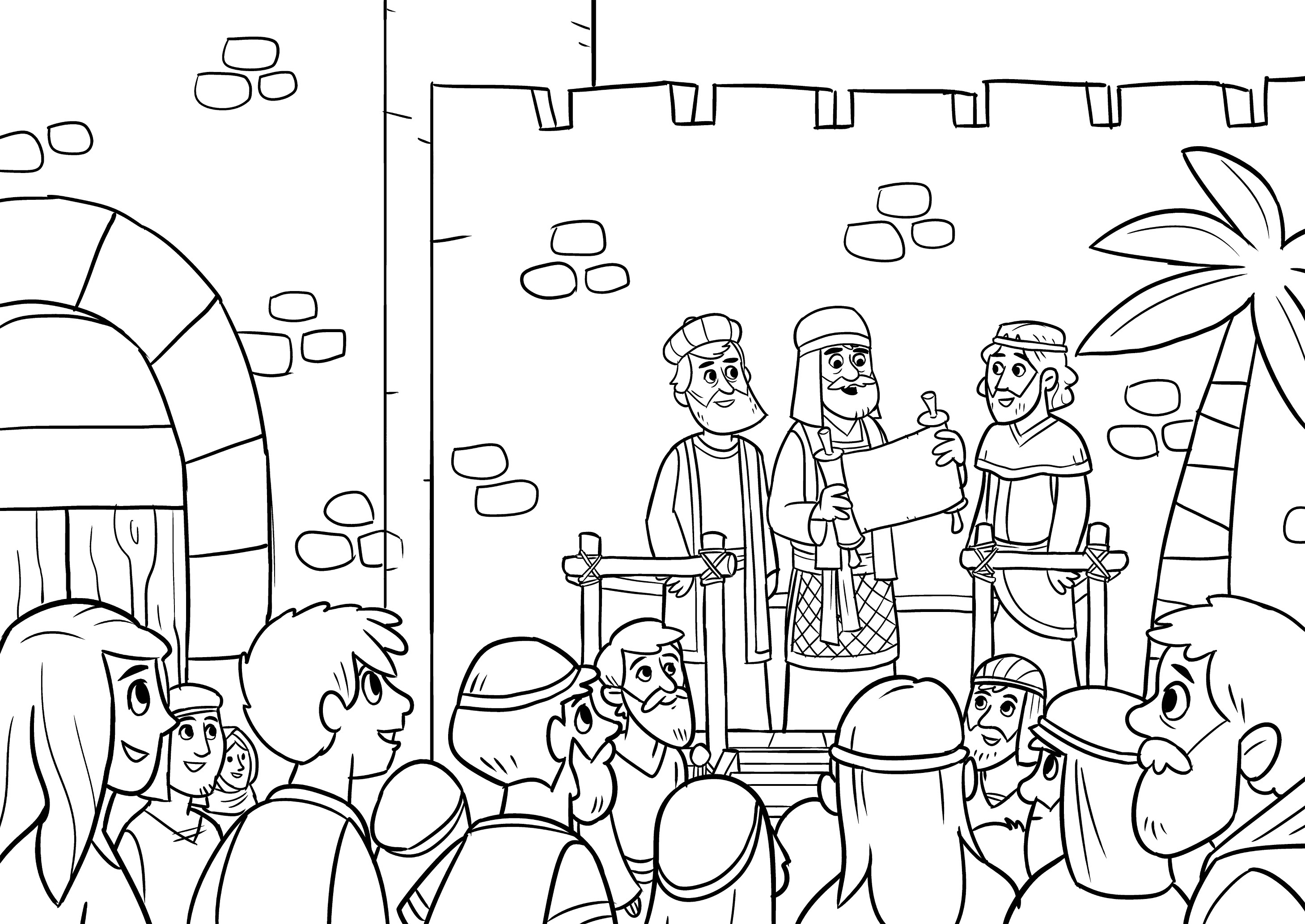 nehemiah coloring pages nehemiah worksheet bible lessons bible lessons for nehemiah pages coloring