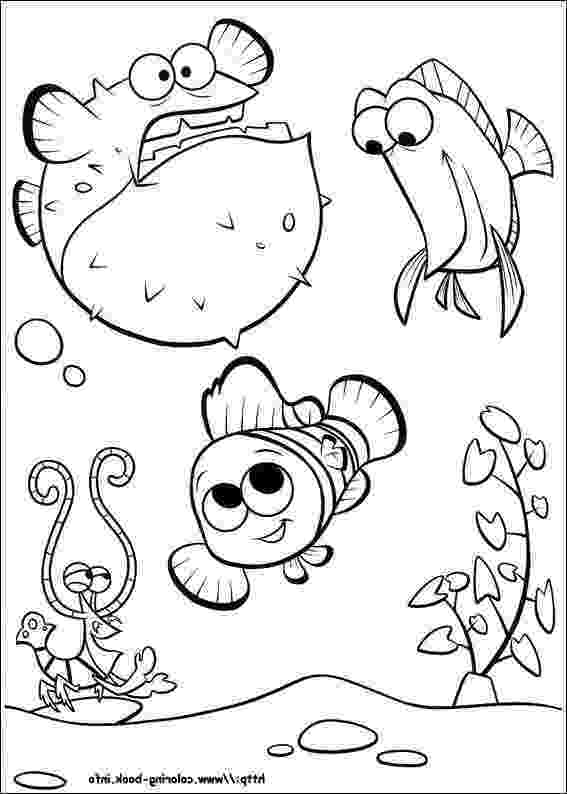 nemo and friends coloring pages finding nemo coloring page and disney coloring page nemo nemo pages coloring friends and