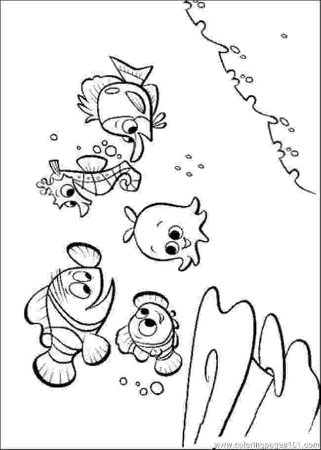 nemo and friends coloring pages nemo and friends coloring page coloring pages nemo friends and
