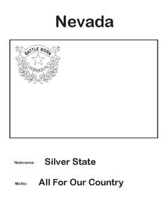 nevada state flower nevada coloring page crayolacom nevada flower state