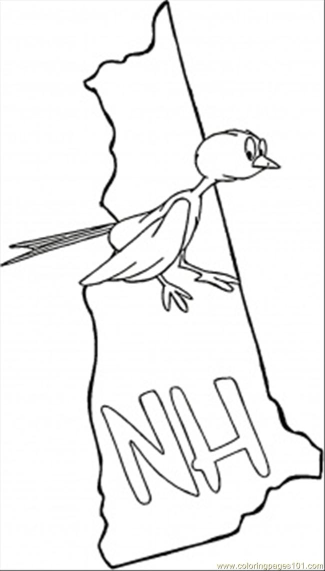 new hampshire coloring pages purple finch coloring page hampshire coloring pages new