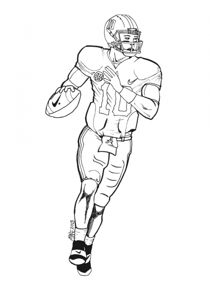 nfl coloring footy colouring pages nfl coloring
