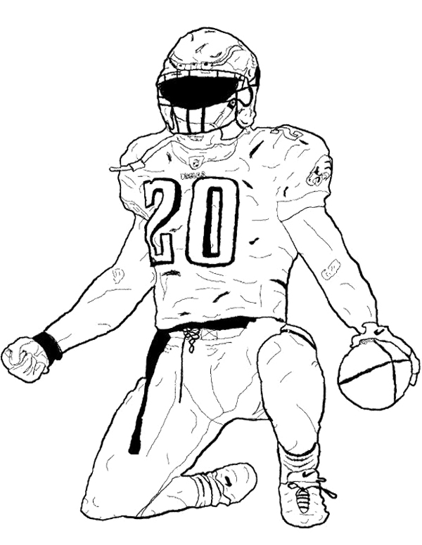 nfl coloring nfl scoring touch down coloring page color luna coloring nfl