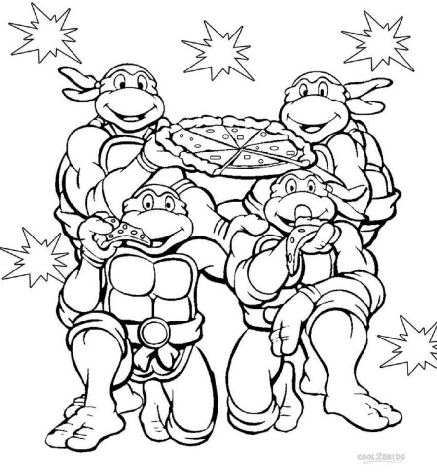 ninja turtle printable coloring pages get this teenage mutant ninja turtles coloring pages free ninja printable coloring turtle pages
