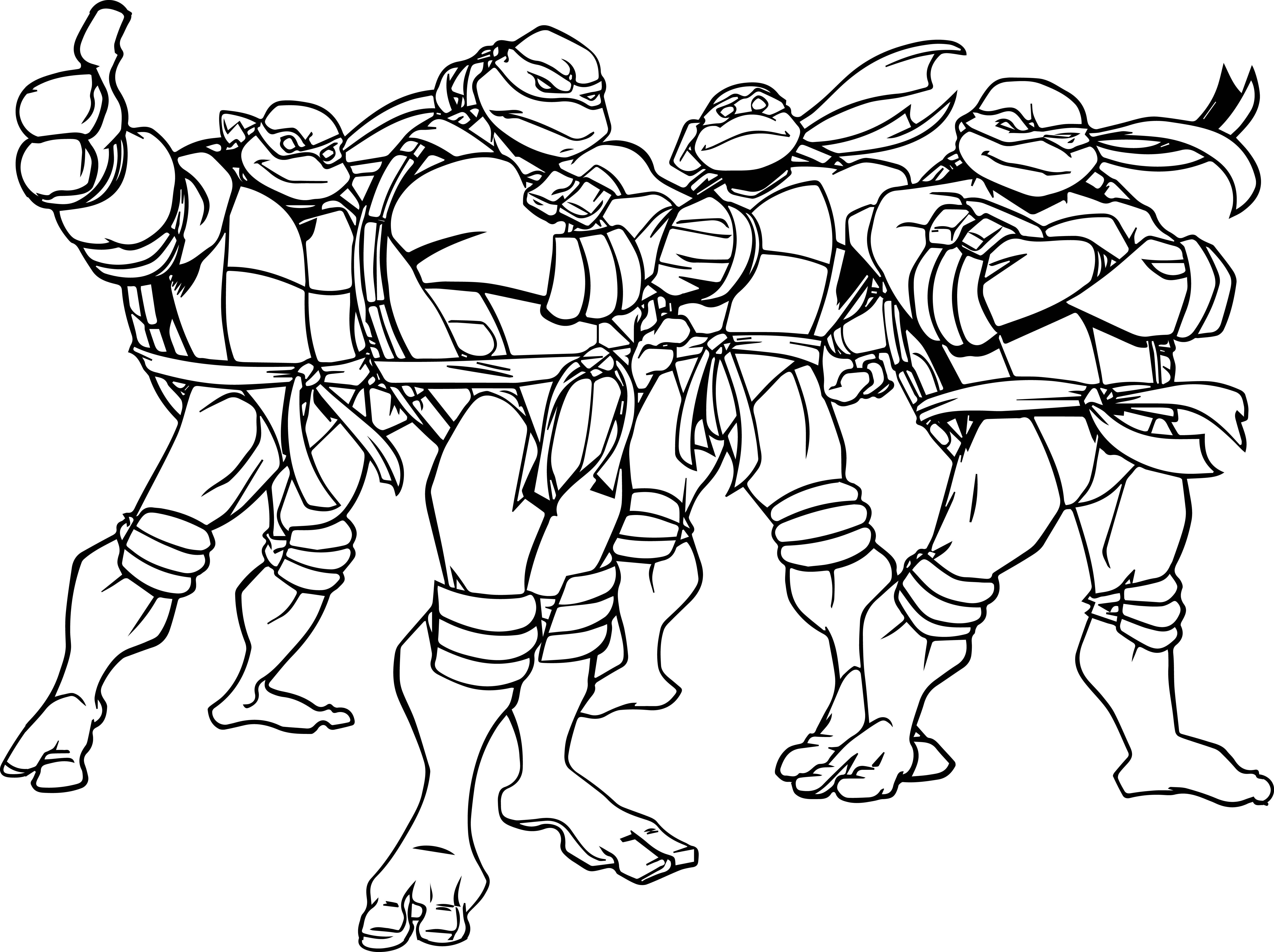 ninja turtle printable coloring pages teenage mutant ninja turtles coloring pages printable at printable coloring ninja turtle pages